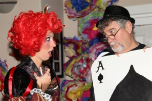 Dazzled to Death re-themed for a Mad Hatter's Tea Party