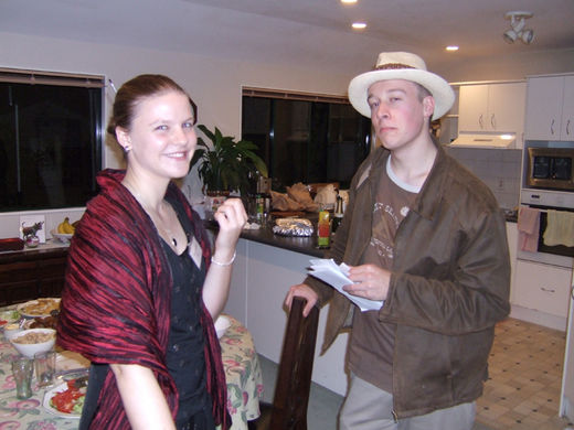 Death on the Gambia – Dylan's 18th birthday party  – Howard & Lynette Webb
