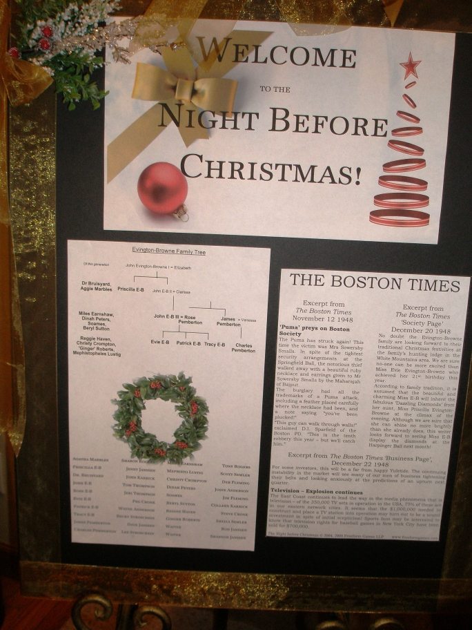 The Night before Christmas – 01. A Sign That I Made 