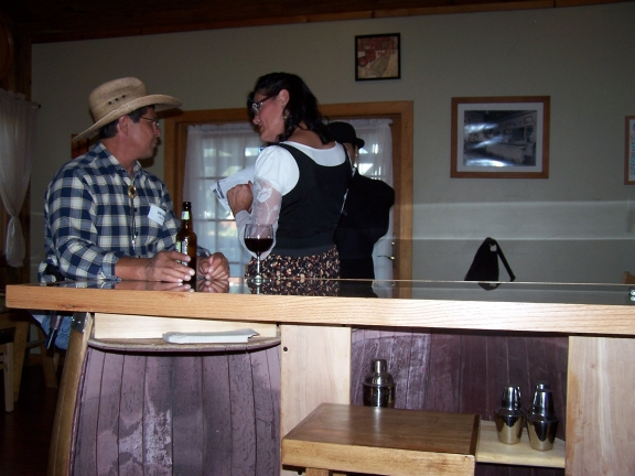 Way out West  –  Wendy White, Abineau Lodge