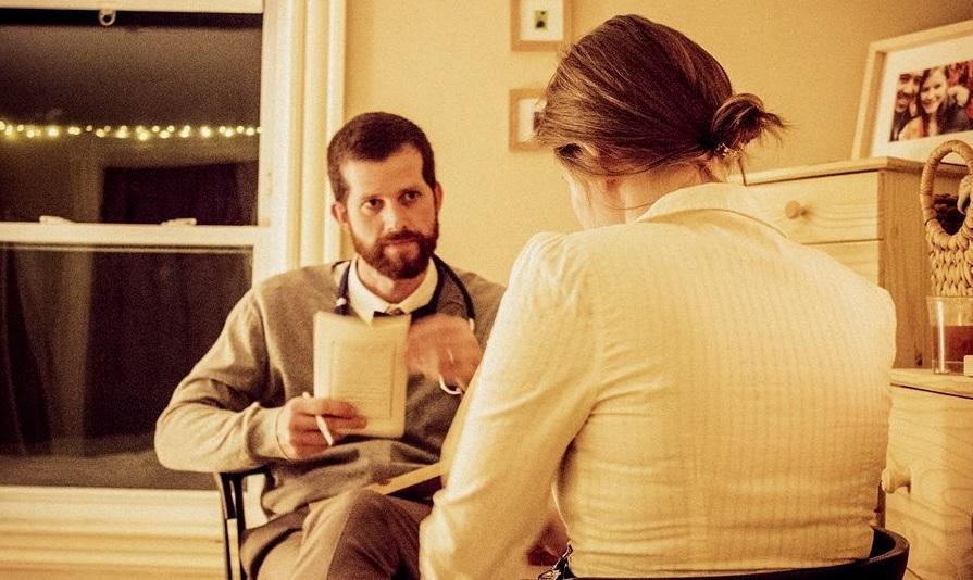 A Will to Murder – Doctor Barker speaks to Regina  – Edmund Flanigan