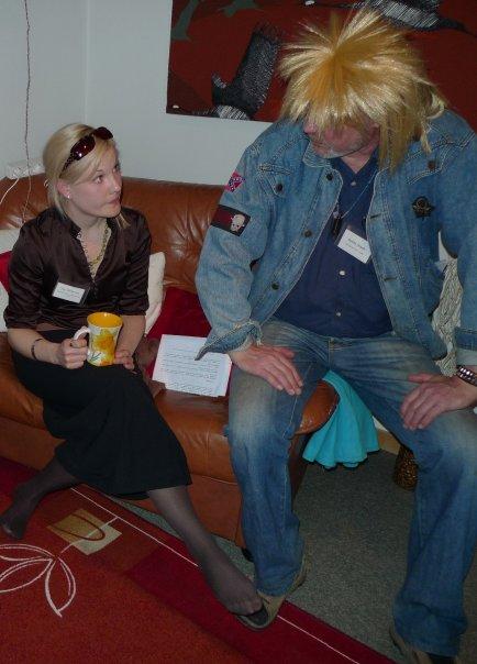 The Karma Club – Suzy and Bobby are negotiating  – Marja Repokangas