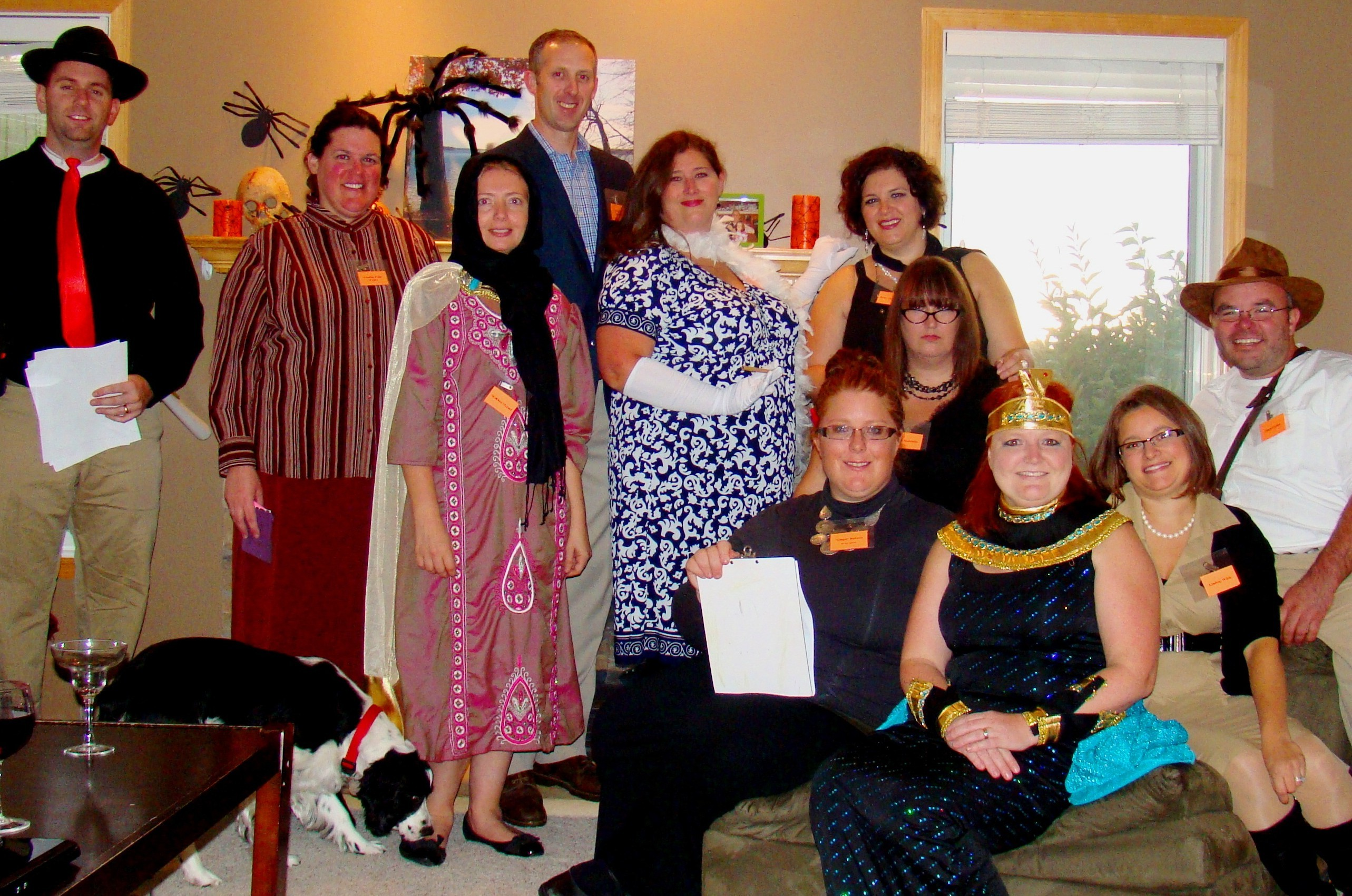 Curse of the Pharaoh – group photo - Angela Frankosky