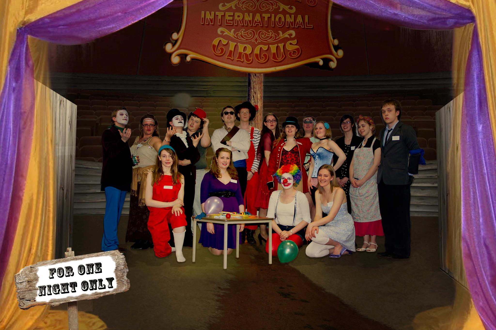 Under the Big Top – for one night only! - Jessica Murray