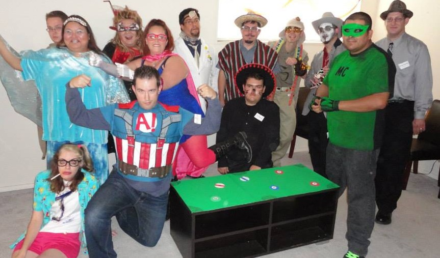 A Heroic Death – group photo  – Mike Munoz
