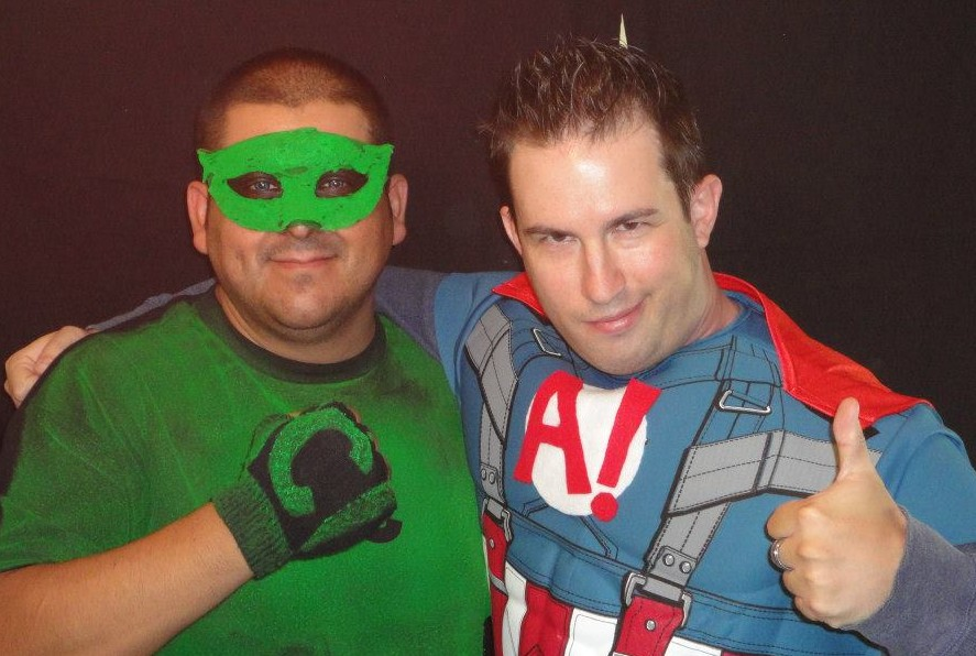 A Heroic Death – The Masked Crusader and Captain Amazing!, best of friends  – Mike Munoz