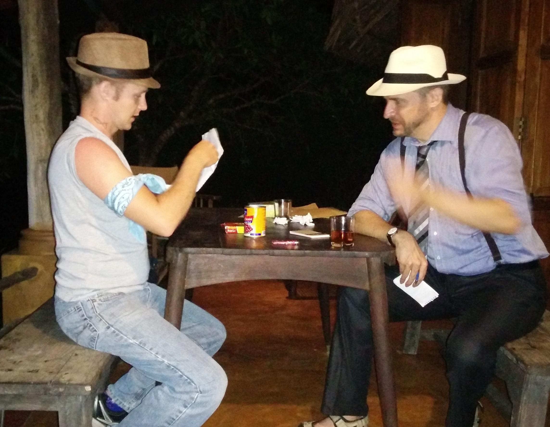 Bludgeoned on Broadway  – Drew Johnson