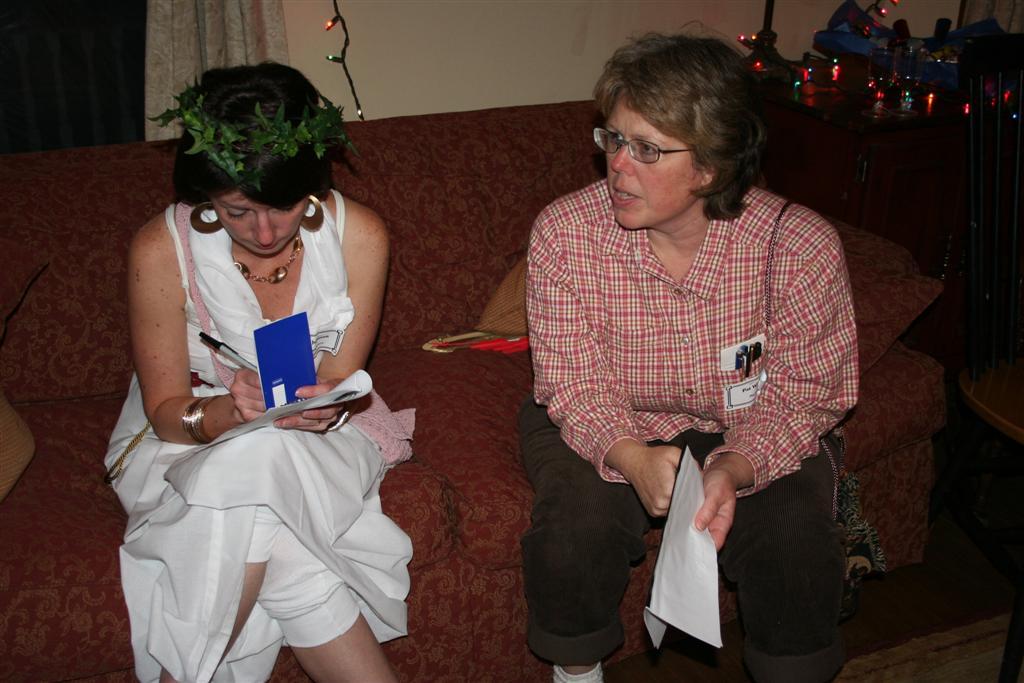 Bludgeoned on Broadway – Lana and Pat  – Jennifer Vals