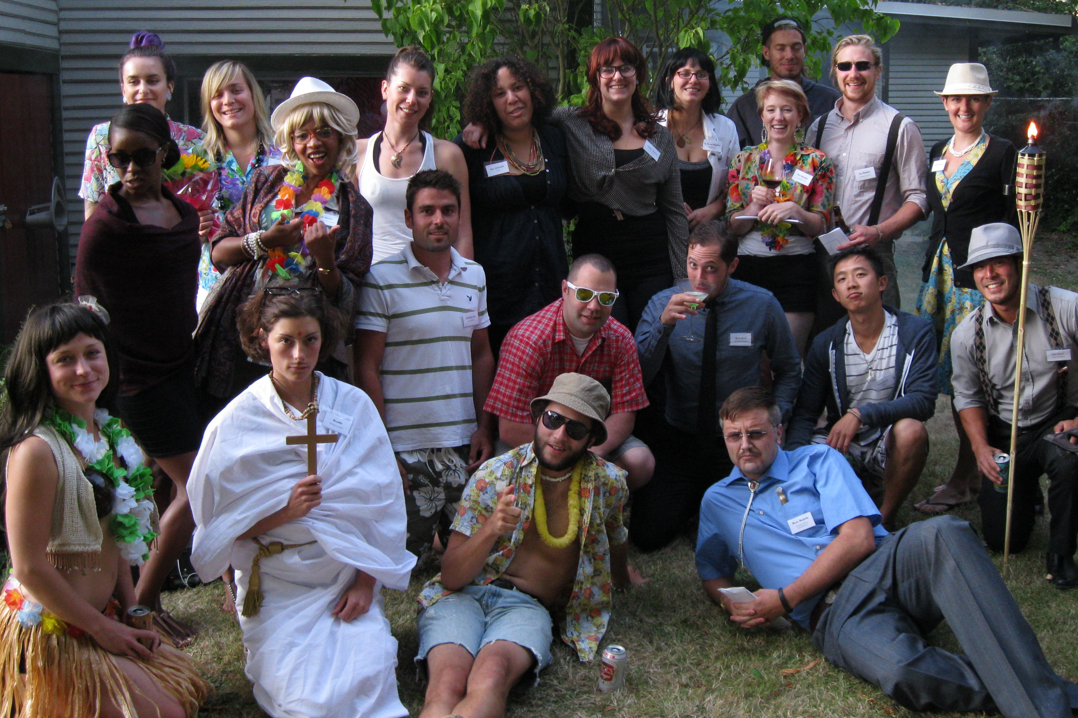 Lei'd to Rest Expanded – group photo  – Chris Rudram