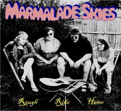 The Karma Club – Rough Ride Home album cover  – Desi Staifer
