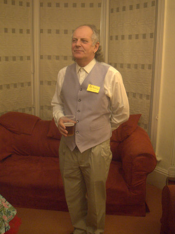 Murder on the Dancefloor – Eric shows off his waistcoat  – Freeform Games