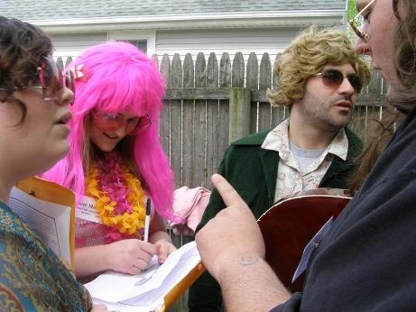The Karma Club – Judy Stank, Flower, Bobby, and Lee  – Desi Staifer