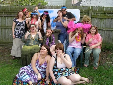The Karma Club – Silly cast photo  – Desi Staifer