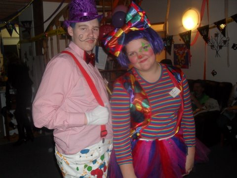 Under the Big Top – Bo and the clown, Dana West  – Terence Smith