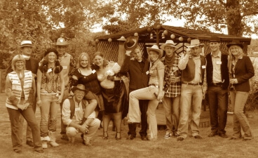 Way out West – sepia group  – Kay Lovell