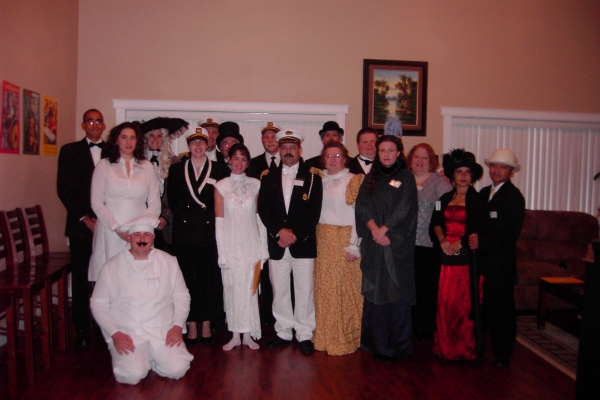 All at Sea – group photo  – Katie Carner
