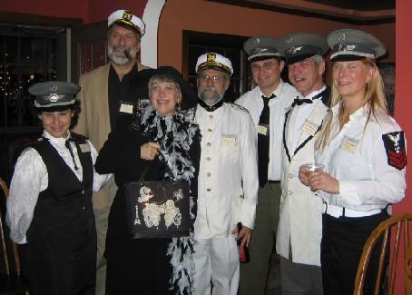 All at Sea – the ship's crew  – Michele de Hart