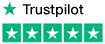 Trustpilot five stars