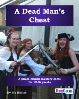 A Dead Man's Chest – a murder mystery game from Freeform Games