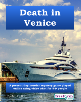 Death in Venice – a murder mystery game from Freeform Games