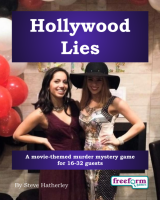 Hollywood Lies – a murder mystery game from Freeform Games