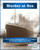 Murder at Sea – a murder mystery game from Freeform Games