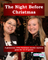 The Night before Christmas – a murder mystery game from Freeform Games