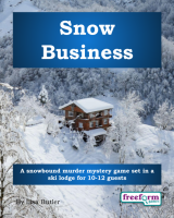 Snow Business – a murder mystery game from Freeform Games