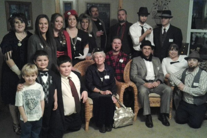 Dazzled to Death – group photo - Tyler Walker