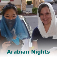 Arabian Nights – a murder mystery game