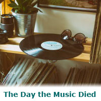 The Day the Music Died – a murder mystery game