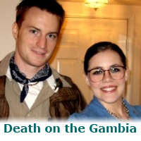 Death on the Gambia – a murder mystery game