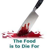 The Food is to Die For – a murder mystery game