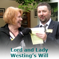 Lord and Lady Westing's Will – a murder mystery game