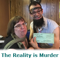 The Reality is Murder – a murder mystery game