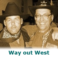 Way out West – a murder mystery game