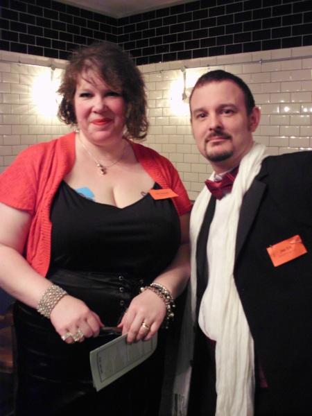 Casino Fatale – Zara Zirconoff and Alex Kirk strike a pose  – Freeform Games