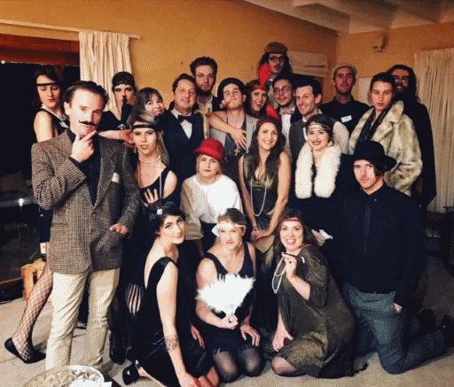 A Speakeasy Murder – group photo  – Laura Dallaston