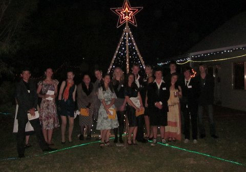 The Night before Christmas – group photo 