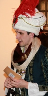 Arabian Nights – The Grand Vizier looks rather nervous
