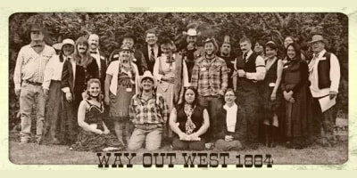 Way out West Expanded, in sepia