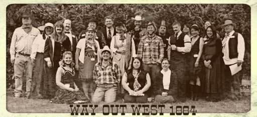 Way out West Expanded, in sepia!  – Melanie L