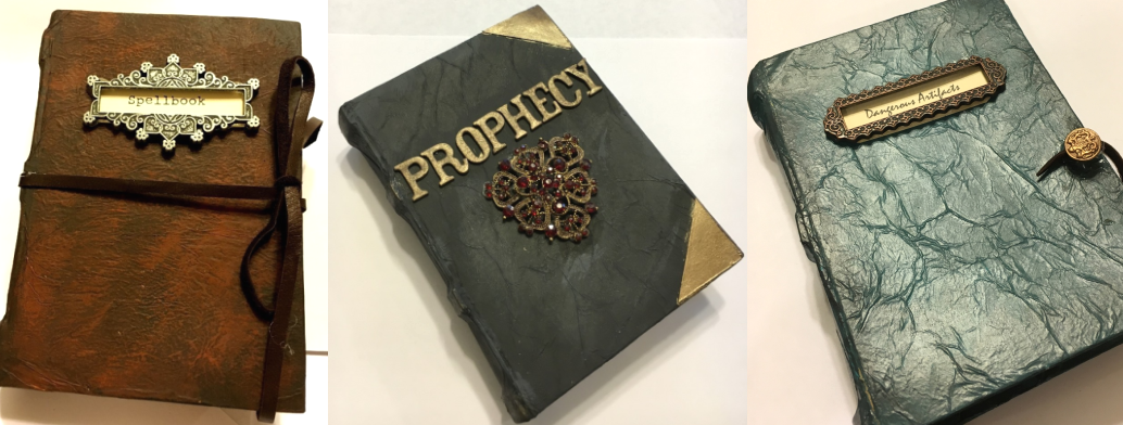 Spellbound props!  – Jonobie Ford