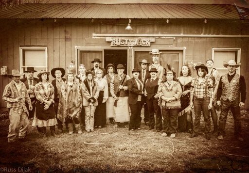 Way out West Expanded, at Rusty Jack, Maryland, USA  – Irene Bain